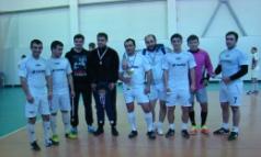 «Серебро» хабаровской футбольной команды «Алания ДВ»