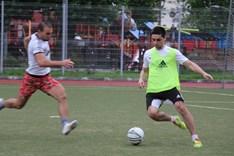 Турнир по футболу: фоторепортаж