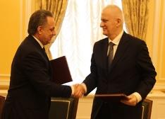Т. Агузаров и В. Мутко обсудили планы на 2016 год