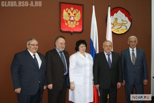 Татьяна Батышева – в Северной Осетии