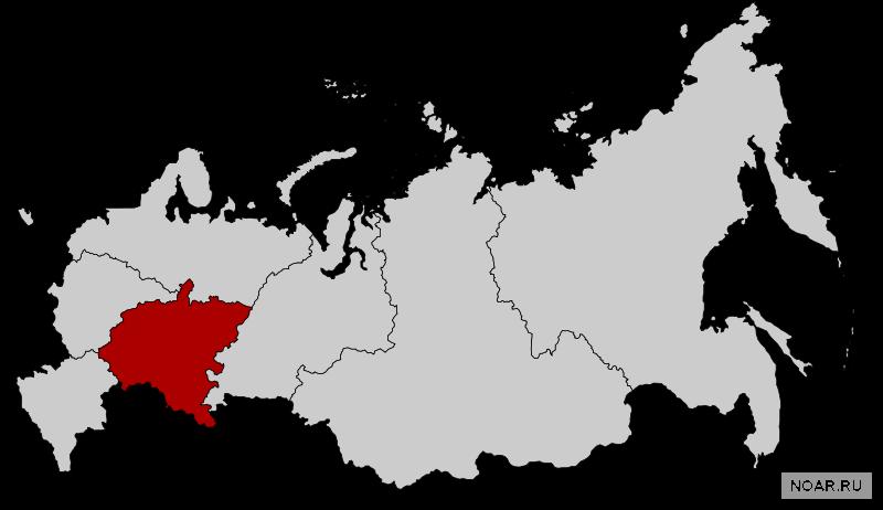 Общая информация о Приволжском федеральном округе