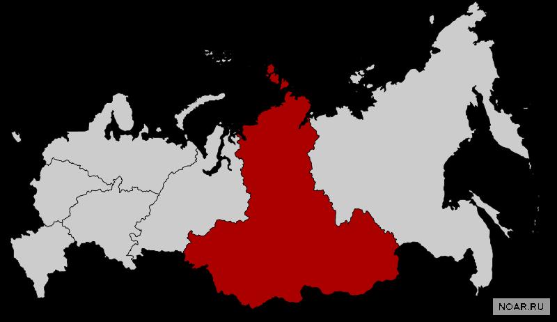 Общая информация о Сибирском федеральном округе