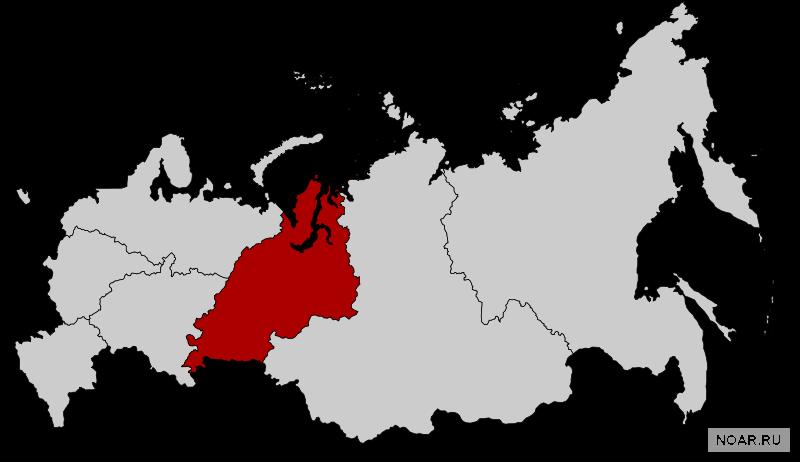 Общая информация об Уральском федеральном округе